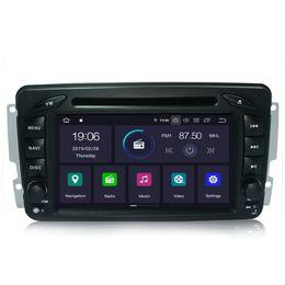 Rw Player Australia - COIKA Quad-Core Android 9.0 System Car DVD Player Head Unit For Benz W203 S203 C180 C230 C32 C55 W209 C208 CLK240 CLK270 W163 W168 A140 A160