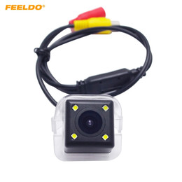 backup camera for toyota Australia - FEELDO Car Rear View Parking Camera With LED light For Toyota Previa 2012 Reverse Backup Camera #6086