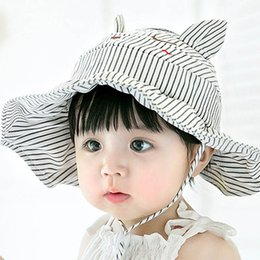 Accessories Mother & Kids Ideacherry Summer Cute Baby Hat Fruit Pattern Lace Hollow For Princess Baby Girl Cap Toddler Kids Fashion Beach Bucket Sun Hats