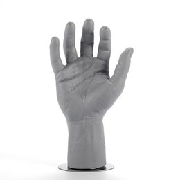 male hand gloves Australia - Freeshipping Soft PVC mannequins Hand New Top Level Display Mannequin Male,Sport Industrial Gloves Hand Display,1 pc Hand