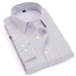ac8f4573c03b9a2 8 Фотографии Повседневный дизайн офисного платья для продажи-Новый стиль  полосатый смарт повседневная мужчины рубашки с длинным