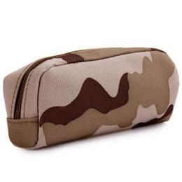 Nylon Coating Australia - Outdoor Camouflage Tactical Eyeglasses Bag Accessories Case Nylon Hard Waterproof Coating Mini Case Military Glasses Box RRA164