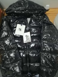 Long winter jackets fashion online shopping - Mens Designer Jacket Autumn Winter Thick Coat Black Down Coat Zipper Fashion Brand Coat Outdoor Sport Jackets Asian Size ss Winter