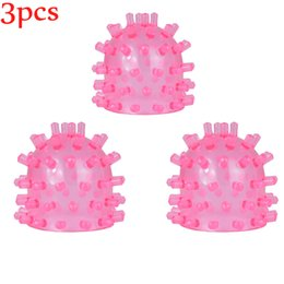 $enCountryForm.capitalKeyWord Australia - 3pcs Pink Head Cap Attachments for Hitachi Adam Eve massager wand replace the hat to use