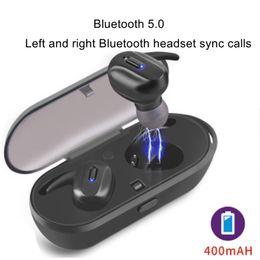 $enCountryForm.capitalKeyWord Australia - Bluetooth earphones TWS dual pass 5.0 stereo mini single ear binaural wireless sports call music