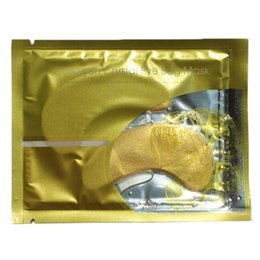 $enCountryForm.capitalKeyWord UK - Gold Crystal Collagen Eye Mask Eye Patches For Eye Care Dark Circles Remove Anti-Aging Wrinkle Skin Care