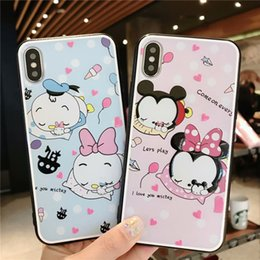 Discount drop proof phone - Cute Animal Bumper Phone Case For Iphone XS Max XR X 8 7 6 Plus Durable Drop-proof Protect Phone Back Cover