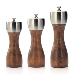 Use carbon online shopping - Premium Beech Wood Pepper Mill Precision Carbon Steel Rotor Use for Peppercorn Sea Salt Black Pepper and More Kitchen Tools