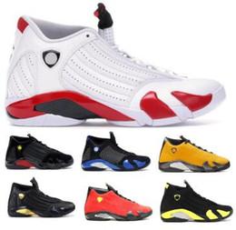 $enCountryForm.capitalKeyWord Australia - Mens 14 14s Basketball Shoes Designer Sneakers Last Shot Emerge Rip Hamilton Candy Cane Desert Sand Thunder XIV Sports New Jumpman Shoes