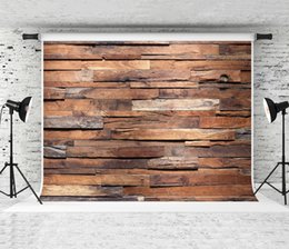 Portrait Photography Photos Canada - Dream 7x5ft Retro Wood Texture Photography Backdrop Wooden Decoration Background for Photographer Portrait Photo Booth Wooden Studio
