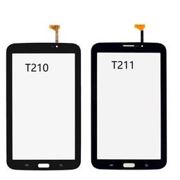 Digitizer Touch Panel For Samsung Tab Australia - New For Samsung Galaxy Tab 3 7.0 SM-T210 SM-T211 T210 T211 Touch Screen Digitizer Sensor Glass Panel Tablet PC Black White