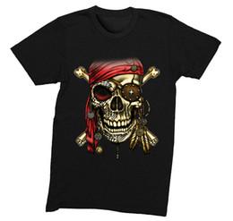 74a585b0ee4 Red Skull Bandana UK - Mens Pirate Bandana Skull Crossbones Treasure Gold  Shipwreck Gift Gaspar T