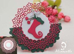 $enCountryForm.capitalKeyWord Australia - METAL CUTTING DIES cut AlinaCraft 4pc doily circle wreath flower background Scrapbook paper craft card album punch art cutter