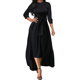 Women's Clothing Shop For Cheap Ishowtienda Summer Dresses Womens Cotton And Linen O-neck Dress Short Sleeve Patchwork Loose Casual Dress Girl Sukienki Damskie
