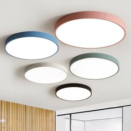 $enCountryForm.capitalKeyWord Australia - LED Ceiling Light Modern Panel Lamp Lighting Fixture Living Room Bedroom Kitchen Surface Mount Flush Remote Control