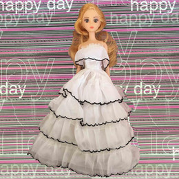 $enCountryForm.capitalKeyWord Canada - Girls DIY Dress Up Doll Toy with Beautiful Fashion Doll and Dress For Girls Birthday Christmas Gift