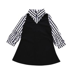 7e919564fc43 2019 Girls Kids Dress For Autumn Toddler Baby Girl Long Sleeve Plaid Tutu  Party Dresses Outfit Clothes vestidos Dropshipping
