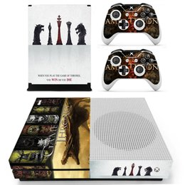 xbox one sticker Australia - Game of Thrones Winter is Coming Skin Sticker Decal For Xbox One S Console and Controllers for Xbox One Slim Skin Stickers Vinyl