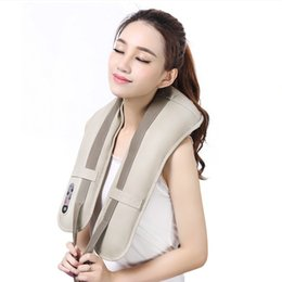 massager for back Australia - Ru Free Shipping Massage Cape A Hammer Heating Massager Banks For The Back Neck Waist Leg Stress Massager T190712