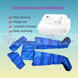 $enCountryForm.capitalKeyWord Australia - 16pcs air bags blue color vest home spa salon use air pressure pressotherapy fat removal lymphatic drainage weight loss machine