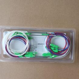 $enCountryForm.capitalKeyWord Australia - 150pcs 1x2 bare fiber optic FBT splitter 20 80 plastic box packing with no connector