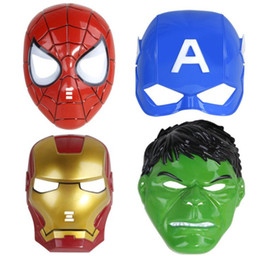 $enCountryForm.capitalKeyWord NZ - Marvel Super Hero Cosplay Mask Avenger Party Theme Teenager Halloween Costumes Cosmetic Mask Classic Holiday Costume Accessories