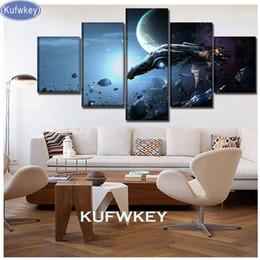 $enCountryForm.capitalKeyWord Australia - 5 piece diamond mosaic Space Planet Galaxy 5d diy diamond painting character full square round drills rhinestone embroidery sale