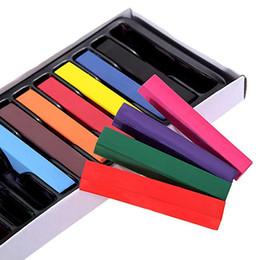 Dye Pen Australia - Disposable 12 Color Short Hair Dye Pen Gradient Color Dyed Hair Chalk Hair Stick Hairdressing Tools
