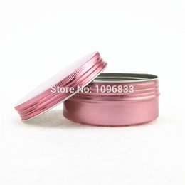 $enCountryForm.capitalKeyWord NZ - Pink Color Aluminum Jar 150g 150ml Aluminium Pot, Empty Packing Tins, Metal Essential Oil Jar, Pink Cans Aluminum Box, 30pcs lot