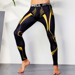 Tight Plus Sized Leggings Australia - Yehan Men's Tights Leggings High Stretchy Style Pants Low Waist Plus Size Compression Men Tights Gym Sports Men Running Hombre