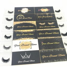 lash extension designs Australia - Eyelash Extension Customized Logo and Designs for Private Sticker Label (Used for Mink Lashes Natural 3D Mink Eyelashes False Lashes)