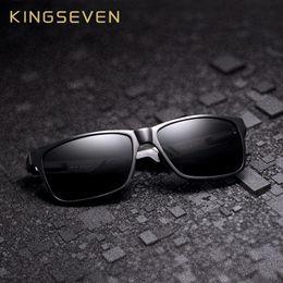 $enCountryForm.capitalKeyWord Australia - Kingseven Aluminum Square Men women Polarized Mirror Uv400 Sun Glasses Eyewear Sunglasses For Men Y19052001