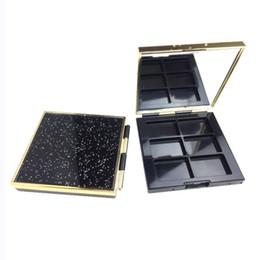 Wholesale Empty Eyeshadow Palettes Australia - DIY Patterns Empty Magnetic Palette Starry Eyeshadow Palette Blusher Makeup Tools