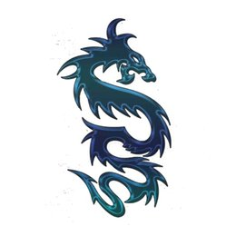 tribal stickers 2019 - Tribal Dragon Sticker Vinyl Laptop Car Vinyl Applique Fun Personality Accessories Decoration cheap tribal stickers