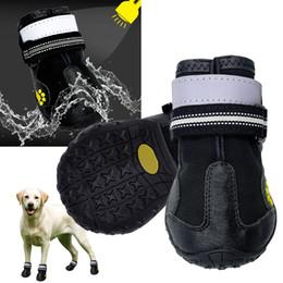 $enCountryForm.capitalKeyWord NZ - Reflective Dog Shoes Socks Winter Dog Boots Footwear Rain Wear Non-Slip Anti Skid Pet Shoes for Medium Large Dogs Pitbull