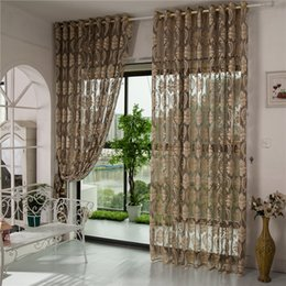 princess curtains Australia - Curtains for Living Dining Room Bedroom Korean Embroidery Curtain Hollow Transparent Sheer Curtains Romantic Princess Lady Tulle