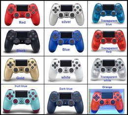 Controller Dual Wireless Australia - NEW PS4 Wireless Bluetooth Game controller with light SLIM for PS4 Controller Dual Double Shock Joystick Gamepads for PlayStati