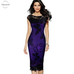Wholesale crochet summer dress women for sale – plus size Dress Xl Plus Size Women Pencil Summer Fashion Exquisite Sequins Butterfly Lace Party Bodycon Crochet Dress