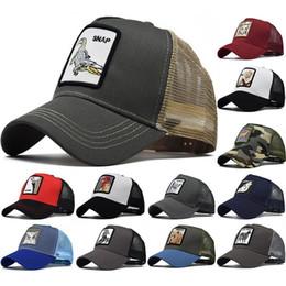 Discount patch baseball cap - Animal Farm Patch Baseball Cap Back Mesh Cock Print Men Women Sun Caps Fishing Hat