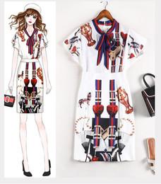 $enCountryForm.capitalKeyWord Australia - Runway Women Shirt Blouse+Skirt 2 PCS Suits Print Short Sleevs Shirts Hot Sale Plus Size 5xl Wholesale Luxury Occident