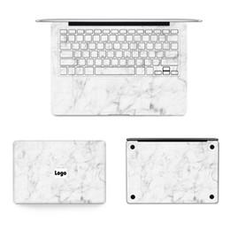 $enCountryForm.capitalKeyWord NZ - Gooyiyo - New 4 In 1 Set Laptop Full Sticker Marble Skin Vinyl Decal For Macbook Air Pro Retina 11 12 13 15 Sticker & Gift Film T6190615