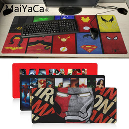 $enCountryForm.capitalKeyWord NZ - MaiYaCa High Quality Marvel Comics High Speed New Mousepad Large Gaming Mouse Pad Anti-slip Perfect Locking PC Computer desk mat