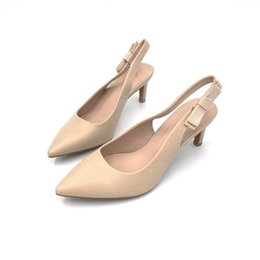 b14f168c3c Stiletto heel apricot online shopping - Dress Spring New Pointed Apricot  High Heel Shallow Mouth Fashion