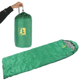 compression sleeping bags Australia - Sleeping Bag 3 Seasons Lghtweight Comfortable Portable Suitable For Adult Children Camping Backpack Hiking With Compression Bag