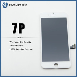 Iphone Screen Testing Australia - Good Price For Iphone 7 Plus LCD Screen High Brightness Display With Cold Glue Frame Assembled Perfect 3D Response And Fingerprint Tested