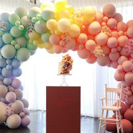$enCountryForm.capitalKeyWord Australia - 10 Inch 100 Pcs lot Macaron Latex Balloons Candy Helium Balloon For Party Wedding Birthday Child Toys Baloon Decoration Glob Q190524