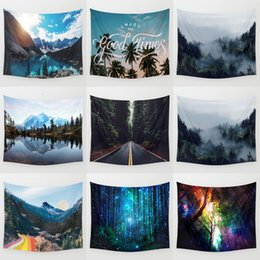 eco friendly towels UK - Scenery Tapestry Background Mandala Yoga Home Cloth Beach Towel Living Room Decoration Wall Decoration ECO Friendly XD23041