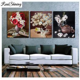 "$enCountryForm.capitalKeyWord NZ - 5D DIY Diamond Painting""Daisy Flowers Bottle""Embroidery 3pc Rhinestone Mosaic Pictures Diamond Mosaic Decoration for home FS6467"