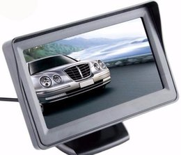 "pal ntsc monitor NZ - Car Monitor 4.3"" Screen For Rear View Reverse Camera LCD Display Digital Color 4.3 Inch PAL NTSC"