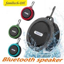 $enCountryForm.capitalKeyWord Australia - C6 Speaker Bluetooth Speaker Wireless Potable Audio Player Waterproof Speaker Hook And Suction Cup Stereo Music Player High Quality